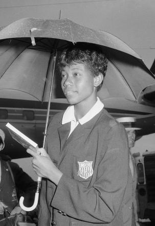 Picture of quotation author Wilma Rudolph