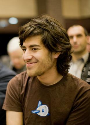 Picture of quotation author Aaron Swartz