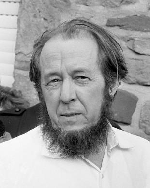Picture of quotation author Aleksandr Solzhenitsyn