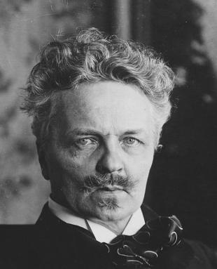 Picture of quotation author August Strindberg