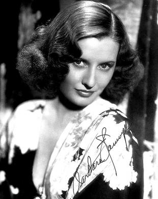 Picture of quotation author Barbara Stanwyck