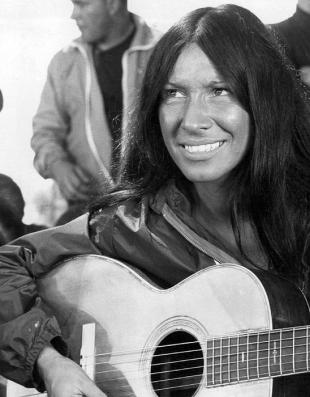 Picture of quotation author Buffy Sainte-Marie