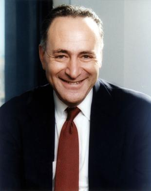 Picture of quotation author Chuck Schumer