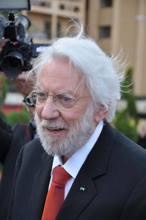 Picture of quotation author Donald Sutherland