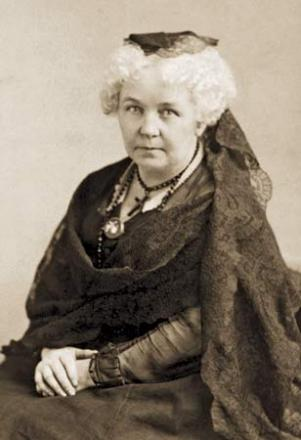 Picture of quotation author Elizabeth Cady Stanton