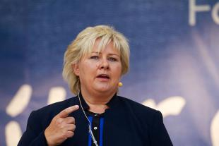 Picture of quotation author Erna Solberg