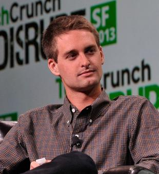 Picture of quotation author Evan Spiegel