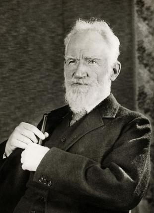 Picture of quotation author George Bernard Shaw