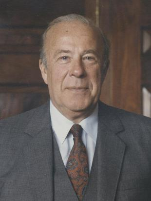 Picture of quotation author George P. Shultz