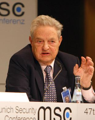 Picture of quotation author George Soros