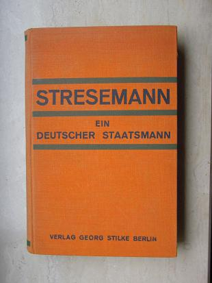Picture of quotation author Gustav Stresemann