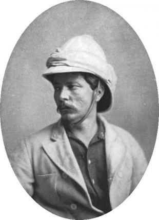 Picture of quotation author Henry Morton Stanley