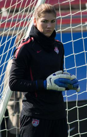 Picture of quotation author Hope Solo