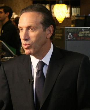 Picture of quotation author Howard Schultz