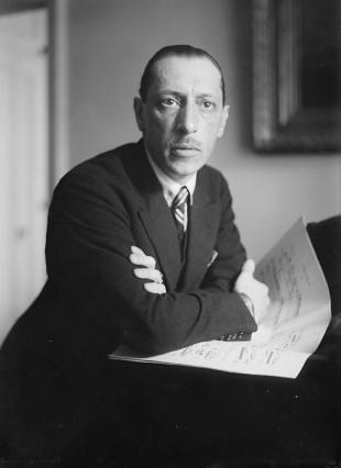Picture of quotation author Igor Stravinsky