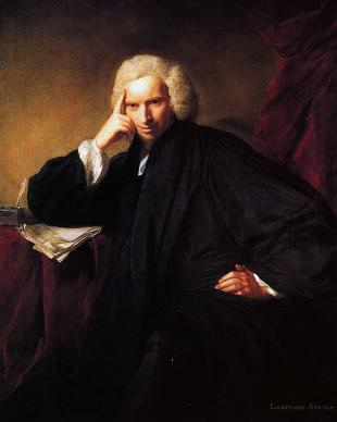 Picture of quotation author Laurence Sterne