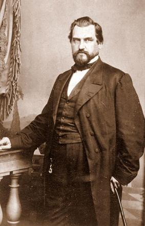Picture of quotation author Leland Stanford