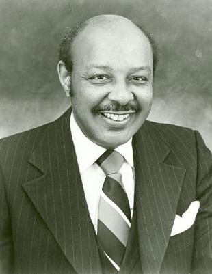 Picture of quotation author Louis Stokes