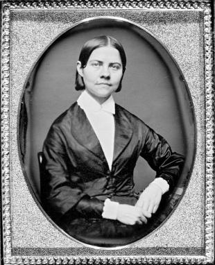 Picture of quotation author Lucy Stone