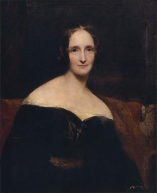 Picture of quotation author Mary Shelley