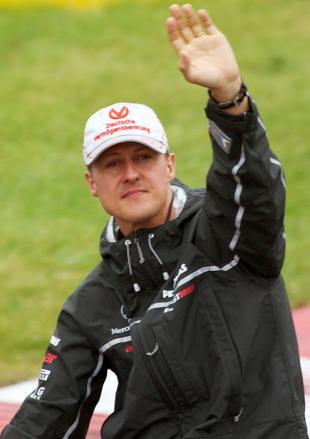 Picture of quotation author Michael Schumacher