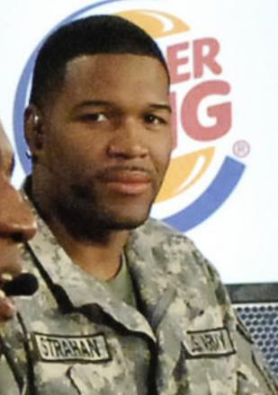 Picture of quotation author Michael Strahan