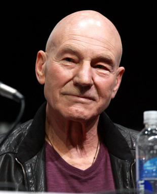 Picture of quotation author Patrick Stewart