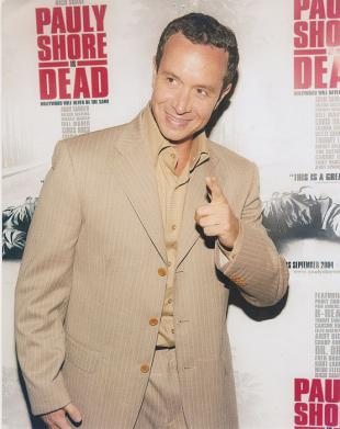 Picture of quotation author Pauly Shore