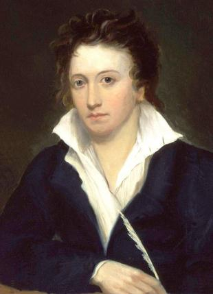 Picture of quotation author Percy Bysshe Shelley
