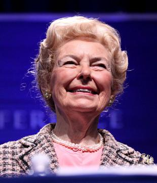 Picture of quotation author Phyllis Schlafly