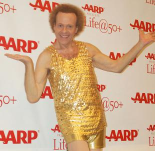 Picture of quotation author Richard Simmons