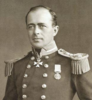 Picture of quotation author Robert Falcon Scott