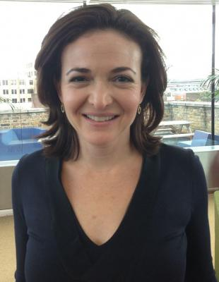 Picture of quotation author Sheryl Sandberg