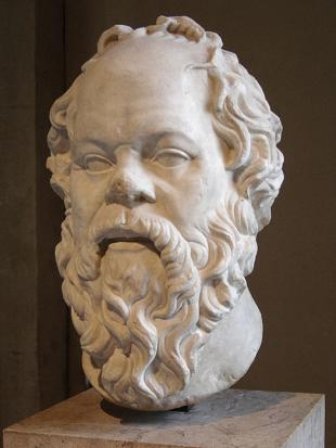 Picture of quotation author Socrates