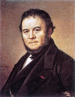 Picture of quotation author Stendhal