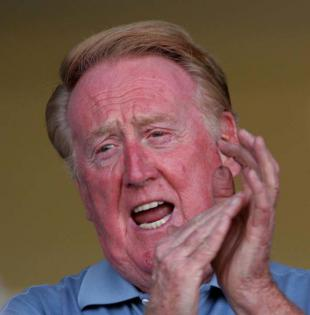 Picture of quotation author Vin Scully