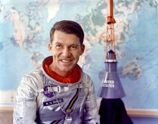 Picture of quotation author Wally Schirra