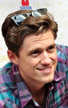 Picture of quotation author Aaron Tveit