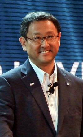 Picture of quotation author Akio Toyoda