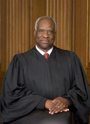 Picture of quotation author Clarence Thomas