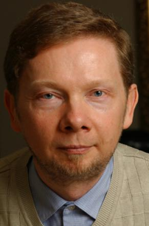 Picture of quotation author Eckhart Tolle