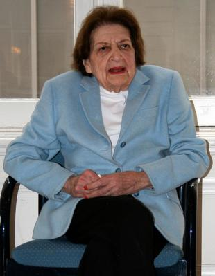 Picture of quotation author Helen Thomas