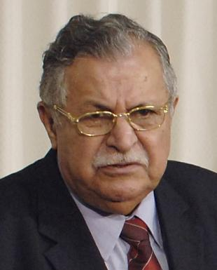 Picture of quotation author Jalal Talabani