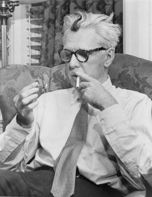 Picture of quotation author James Thurber