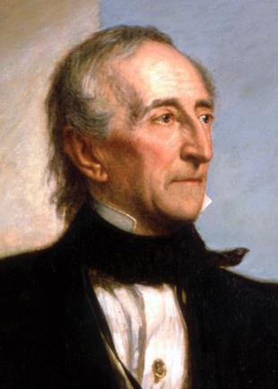 Picture of quotation author John Tyler