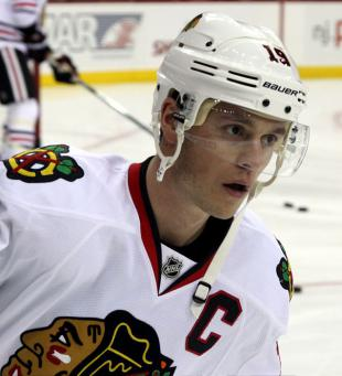Picture of quotation author Jonathan Toews