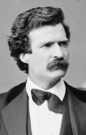 Picture of quotation author Mark Twain