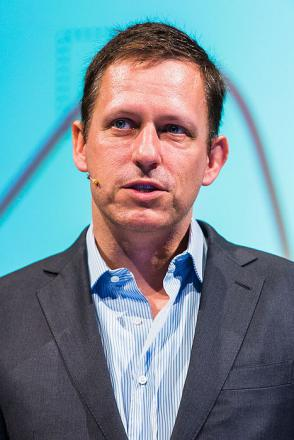 Picture of quotation author Peter Thiel