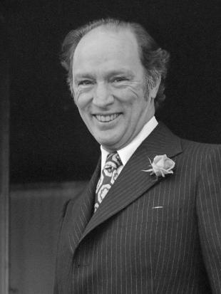 Picture of quotation author Pierre Trudeau