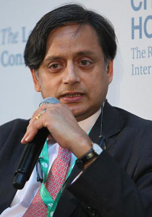 Picture of quotation author Shashi Tharoor